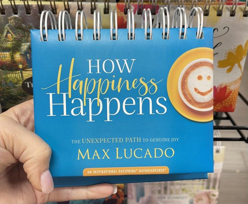 Inspirational calendar - How happiness happens