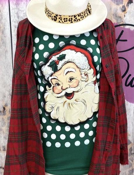 PREORDER Santa dot tee