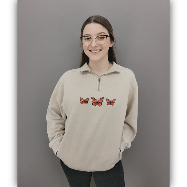 Leo butterfly Pullover
