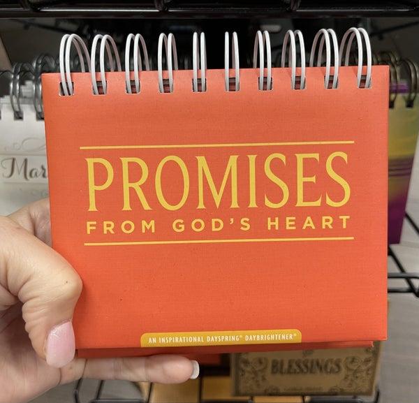 Inspirational Calendar - Promises from God's heart