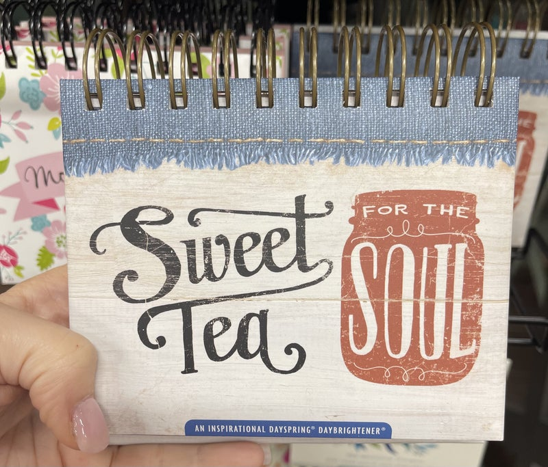 Inspirational calendar - Sweet tea for the soul