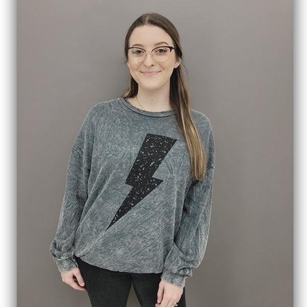 Janet Lightning Sweatshirt