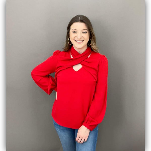 Sway top - Red