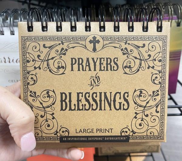 Inspirational calendar - Prayers & blessings