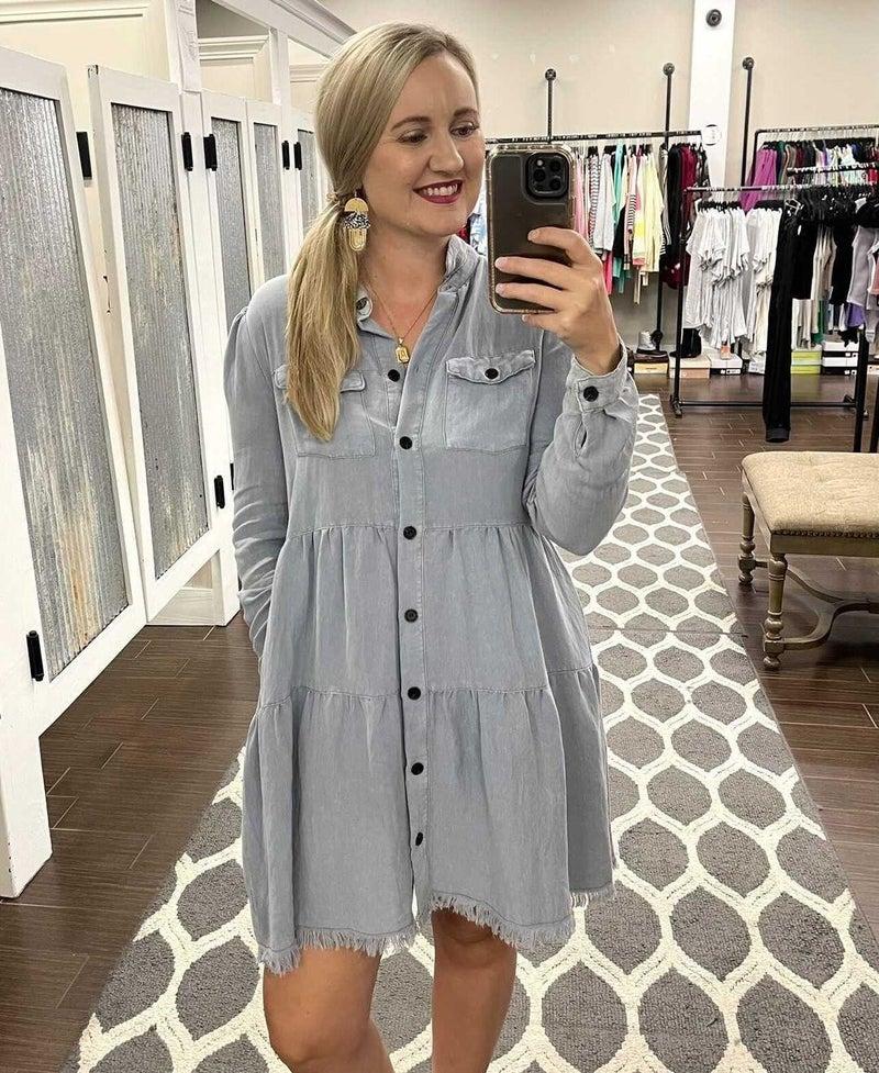 Mary Ann Denim Dress