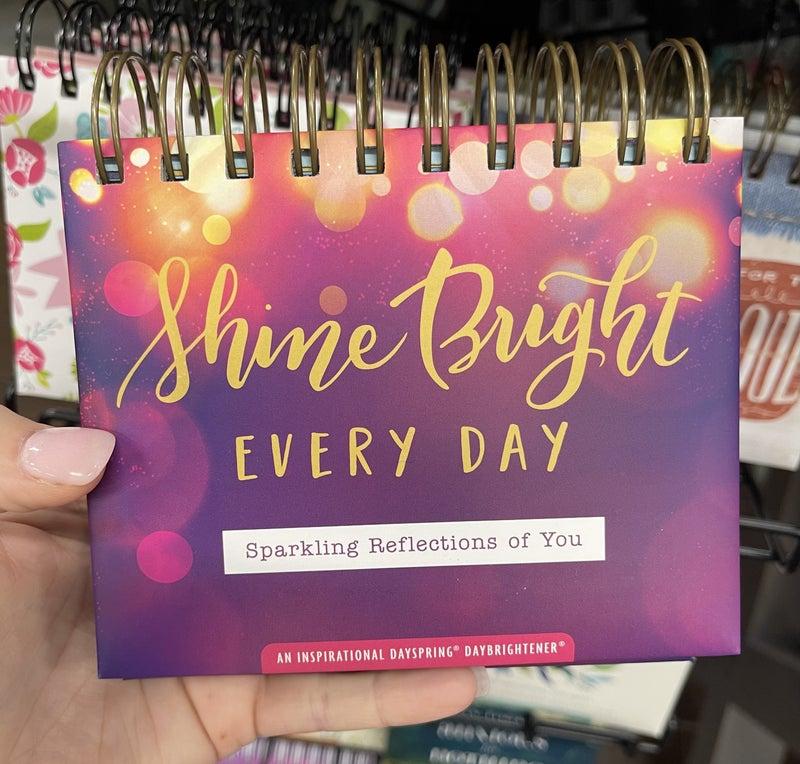 Inspirational Calendar - Shine bright every day