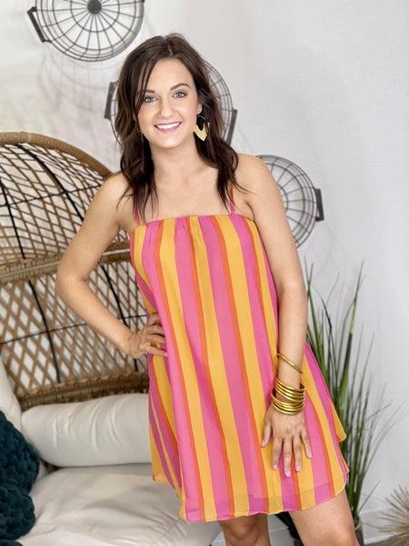 The Sandra Fruity Pebbles Dress