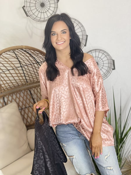The Chic Leo Poncho Top in 2 Colors
