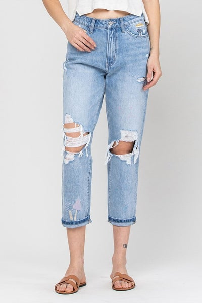 The Maxine Mom Jeans