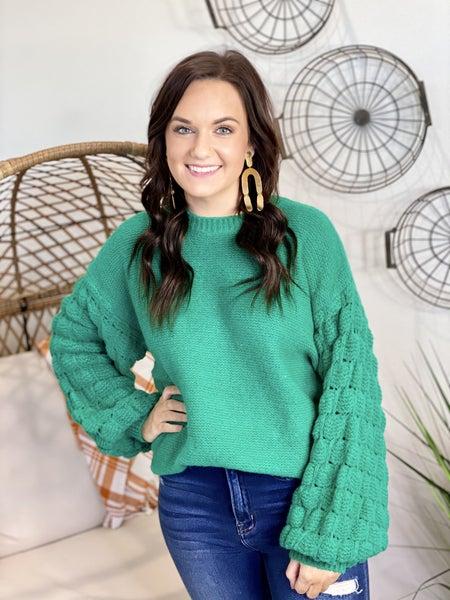 I Dream of Green Sweater