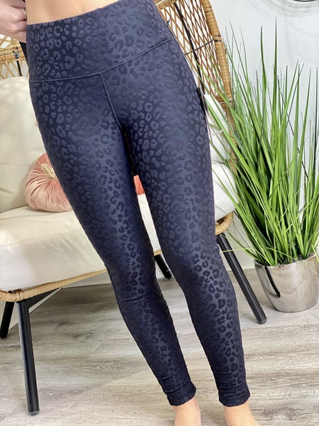 Leo Jacquard Highwaist Leggings