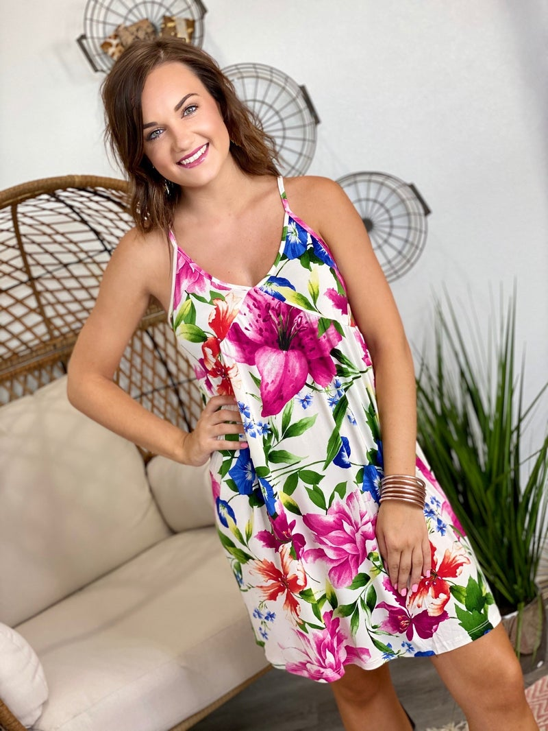 The Hibiscus Dress