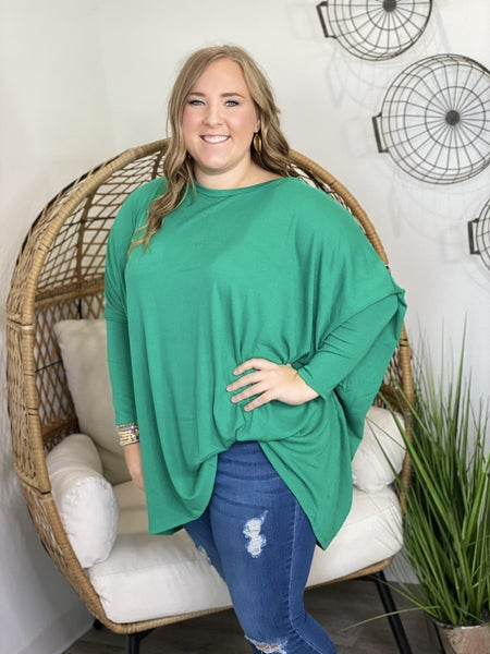LD STEAL #11- CURVY Solid Piko Top