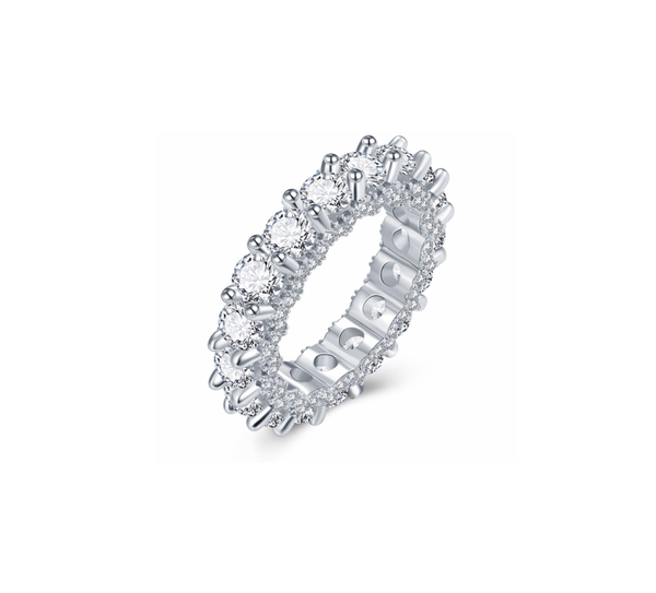 Solitaire CZ Band