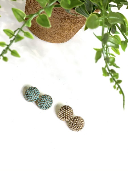 The Button Studs-2 Colors