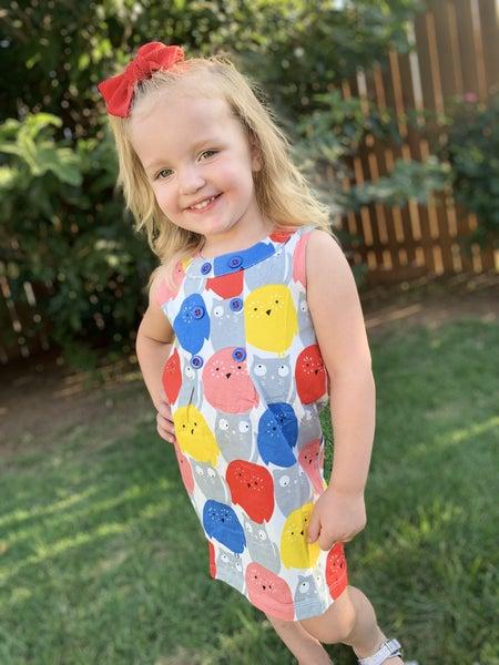 Kids Bold Owl Dress