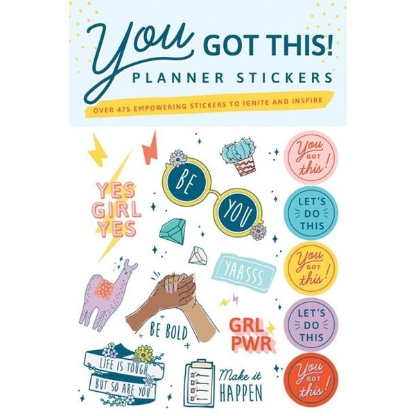 You Got This! Planner Stickers