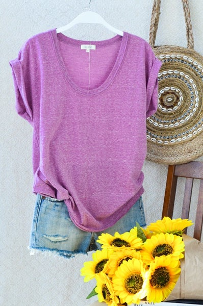 The Round Tee-2 Colors