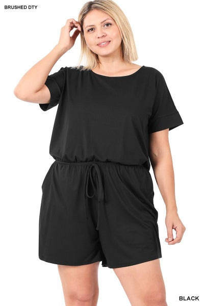 The STEAL Curvy Audrey Romper