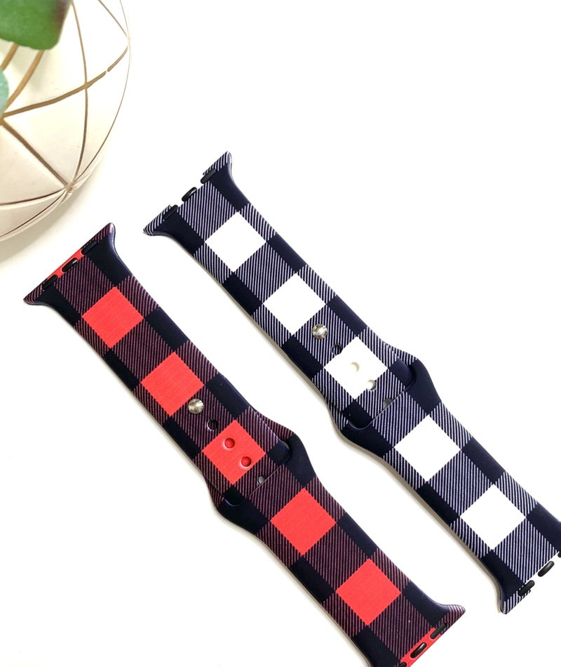 Buffalo Plaid Watch Bands- 2 Colors