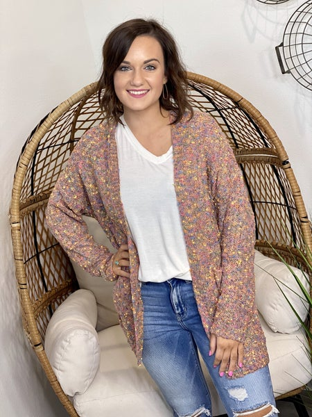 Multi Dotted Cardigan ALL Sizes