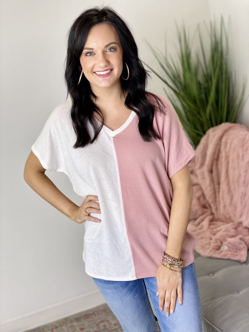 The Splitsville Top in 2 Colors-All Sizes