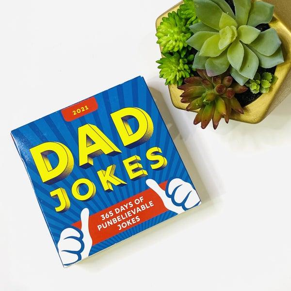 2021 Dad Jokes Calendar