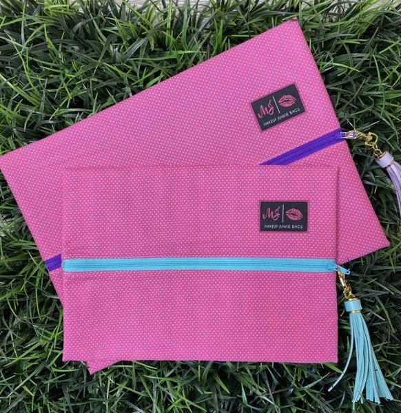 Pink Polkadot MJ Bag