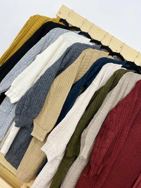 The Twist Knit Cardigan-11 Colors