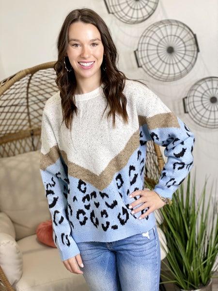The Blue Adora Sweater