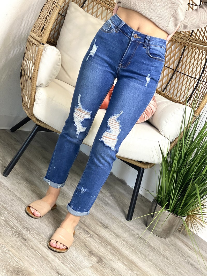 The Madison Girlfriend Jeans