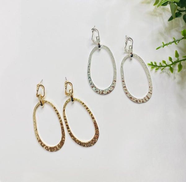 The Oval Treat Earrings