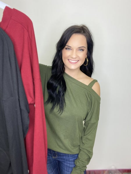The Major Top in 3 Colors-All Sizes