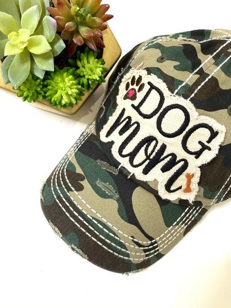 Dog Mom Camo Hat
