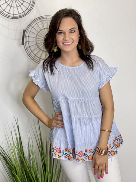 The Sweet Caroline Top in All Sizes