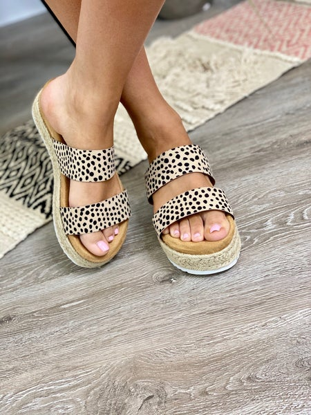 The Priscilla Espadrilles-Cheetah