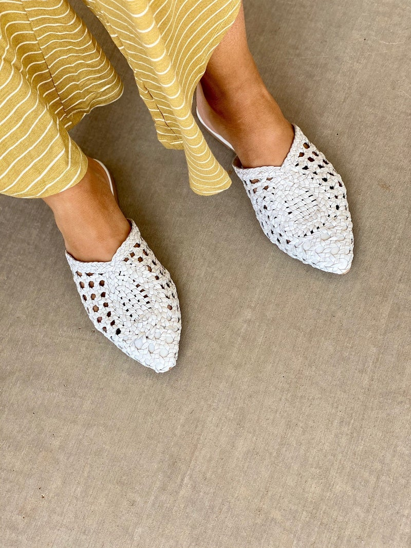The Charmed Mule in White