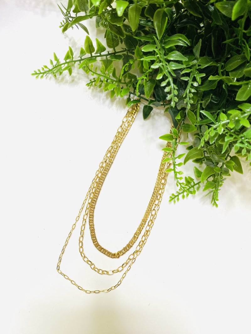 The Go For Gold Necklace