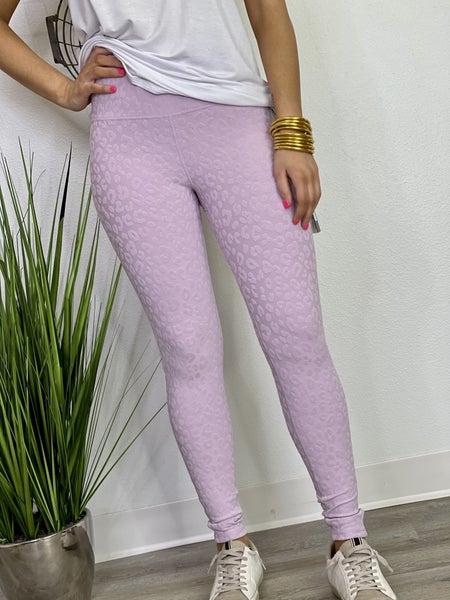 The Lilac Leo Jacquard Leggings