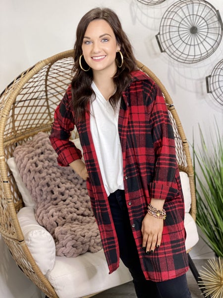 The Sunday Flannel Tunic