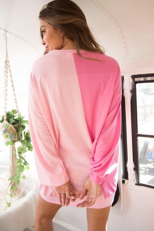The Bubble Yum Sweatshirt Dress