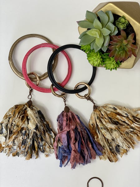Tassel Silk Ring