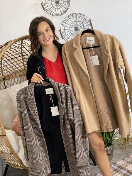 The Campbell Coat in 3 Colors