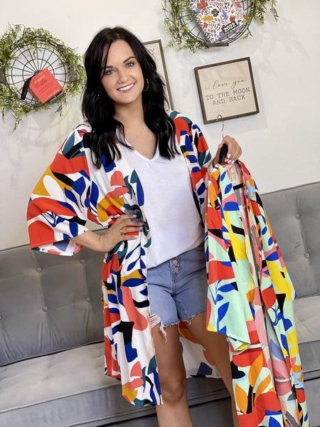 The Jodi Kimono in 2 Colors