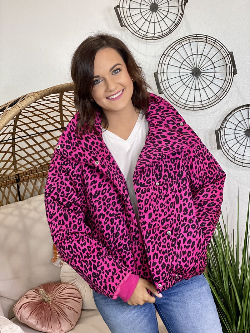 The Jolie Jacket in Pink