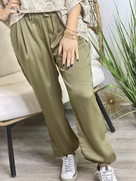 The Olive Retreat Pants