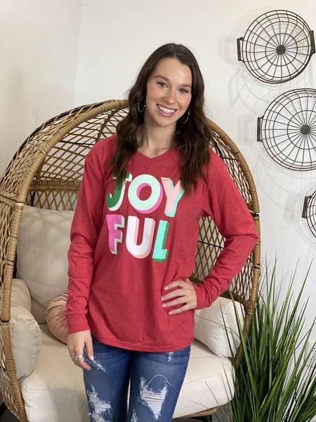 Joyful LS Tee