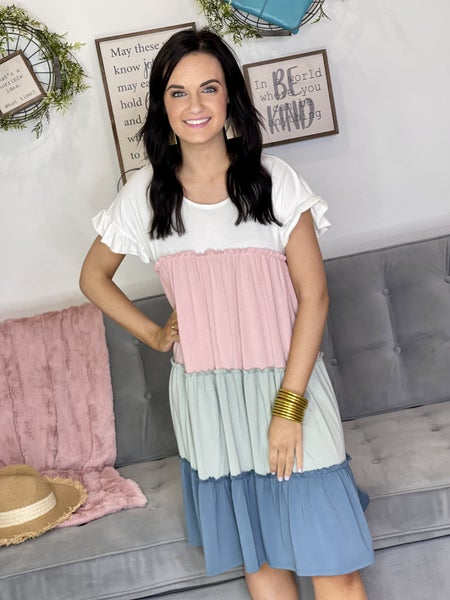 The Lydia Tiered Dress - All Sizes