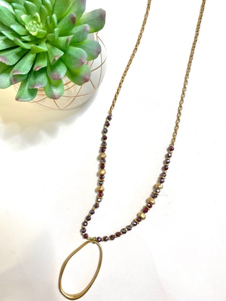 LD STEAL #49- The Wine Me Up Necklace