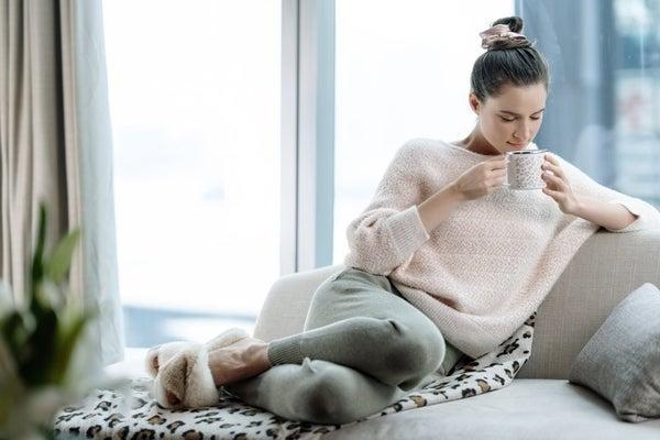 Charlie Blush Dolman Sweater